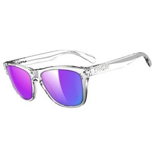 Oakley Square Style Violet Iridium Lens